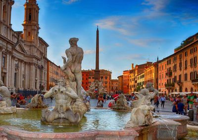 "<em>Piazza Navona, Roma</em>, Photography, 11"" x 14"""