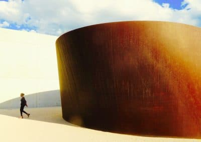 <em>Serra at Pulitzer Arts Foundation</em>, photography
