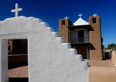 <em>Taos Church</em>, photography
