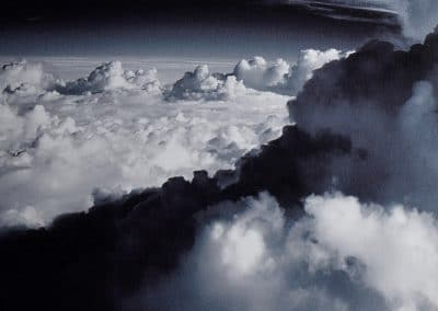 <em>In Flight / Cloud Cathedral</em>, photography