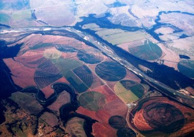 <em>In Flight / Irrigated Farms</em>, photography