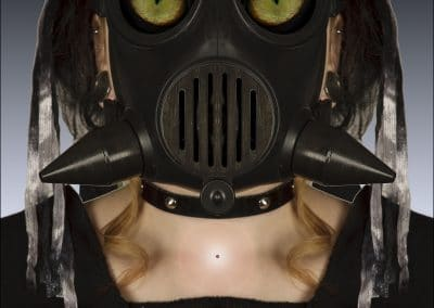 <em>Gas Mask I</em>, photography
