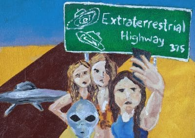 Detour on the Extraterrestrial Highway