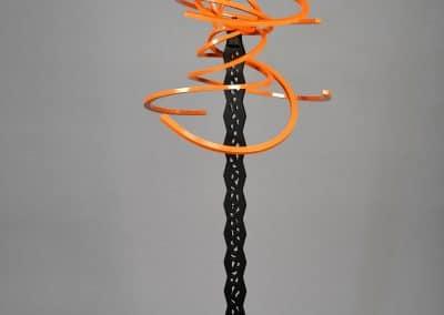 Cosmic Orange 8 Arm Torque on Kuiper Belt Base