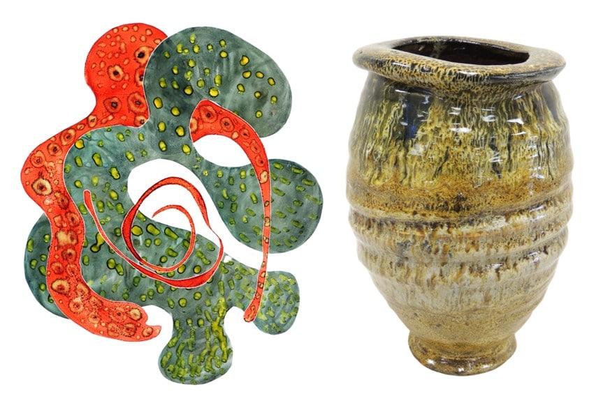 Ken & Barb Hoffman: Improvisations in Clay & Printmaking
